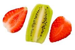 φράουλα ακτινίδιων Στοκ φωτογραφία με δικαίωμα ελεύθερης χρήσης