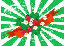 φράουλα ανασκόπησης Στοκ εικόνα με δικαίωμα ελεύθερης χρήσης