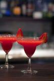 φράουλα αφρίσματος Στοκ Εικόνες