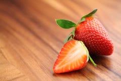 φράουλα δύο Στοκ Φωτογραφία
