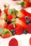 φράουλα επιδορπίων Στοκ φωτογραφία με δικαίωμα ελεύθερης χρήσης