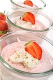φράουλα επιδορπίων στοκ εικόνα με δικαίωμα ελεύθερης χρήσης