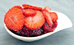 φράουλα ζελατίνας Στοκ Εικόνα