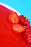 φράουλα ζελατίνας Στοκ εικόνα με δικαίωμα ελεύθερης χρήσης