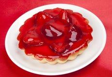 φράουλα κέικ Στοκ Εικόνα