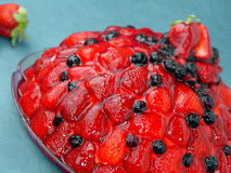 φράουλα κέικ Στοκ φωτογραφία με δικαίωμα ελεύθερης χρήσης