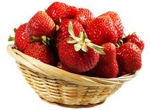 φράουλα καλαθιών Στοκ εικόνα με δικαίωμα ελεύθερης χρήσης