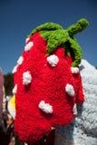 φράουλα καπέλων Στοκ Φωτογραφίες