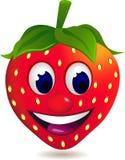 φράουλα κινούμενων σχεδί Στοκ Φωτογραφίες