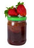 φράουλα μαρμελάδας μούρ&omeg Στοκ φωτογραφία με δικαίωμα ελεύθερης χρήσης