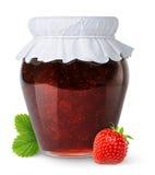 φράουλα μαρμελάδας Στοκ Φωτογραφίες