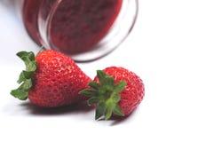 φράουλα μαρμελάδας στοκ εικόνες