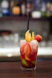 φράουλα μιγμάτων Στοκ εικόνα με δικαίωμα ελεύθερης χρήσης