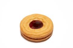 φράουλα μπισκότων Στοκ Εικόνες