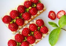 φράουλα ξινή Στοκ εικόνες με δικαίωμα ελεύθερης χρήσης