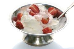 φράουλα παγωτού Στοκ Εικόνες