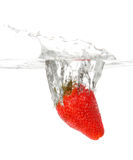 φράουλα παφλασμών στοκ φωτογραφίες