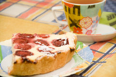 φράουλα πιτών Στοκ εικόνες με δικαίωμα ελεύθερης χρήσης