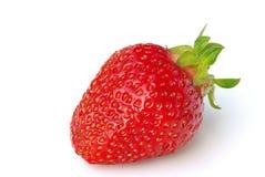 Φράουλα που απομονώνεται Στοκ φωτογραφίες με δικαίωμα ελεύθερης χρήσης