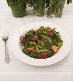 φράουλα σαλάτας δικράνων Στοκ Εικόνα