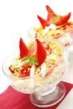 φράουλα σαλάτας κοκτέι&lambd Στοκ Εικόνα