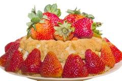 φράουλα σιτηρεσίου shortcake Στοκ Εικόνες