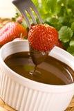 φράουλα σοκολάτας Στοκ εικόνα με δικαίωμα ελεύθερης χρήσης