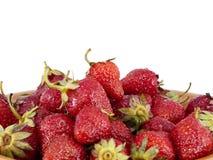 φράουλα σωρών Στοκ φωτογραφίες με δικαίωμα ελεύθερης χρήσης
