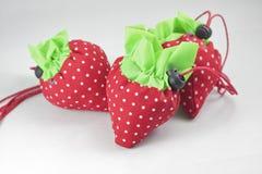 φράουλα υφασμάτων Στοκ Εικόνες