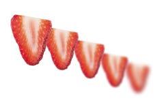 φράουλα φετών Στοκ Εικόνες