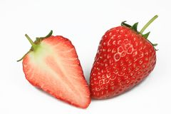 φράουλα φετών Στοκ φωτογραφία με δικαίωμα ελεύθερης χρήσης