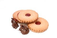 φράουλα choco κέικ Στοκ εικόνες με δικαίωμα ελεύθερης χρήσης