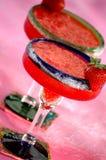 φράουλα margaritas στοκ φωτογραφία με δικαίωμα ελεύθερης χρήσης