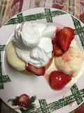 Φράουλα shortcake Στοκ Φωτογραφία