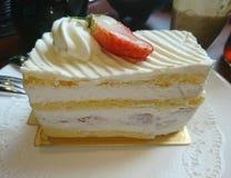 Φράουλα shortcake Στοκ Φωτογραφίες