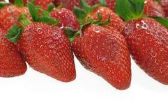 φράουλες ανασκόπησης Στοκ εικόνα με δικαίωμα ελεύθερης χρήσης