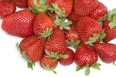φράουλες ομάδας Στοκ φωτογραφία με δικαίωμα ελεύθερης χρήσης