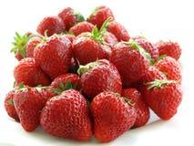 φράουλες σωρών Στοκ εικόνα με δικαίωμα ελεύθερης χρήσης