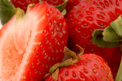 φράουλες 1 Στοκ εικόνα με δικαίωμα ελεύθερης χρήσης