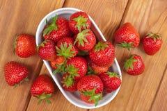 φράουλες Στοκ εικόνες με δικαίωμα ελεύθερης χρήσης