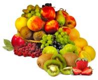 Φράουλα, ακτινίδιο, αχλάδι Στοκ Εικόνα