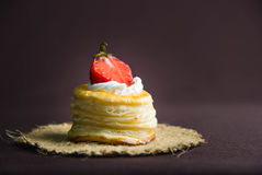Φράουλα διεξόδων Au έντασης Στοκ Φωτογραφίες