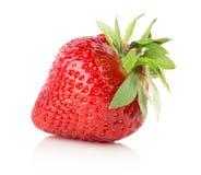 Φράουλα που απομονώνεται στο άσπρο υπόβαθρο Στοκ φωτογραφίες με δικαίωμα ελεύθερης χρήσης