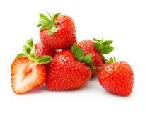 Φράουλα που απομονώνεται Στοκ Εικόνα
