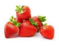 Φράουλα που απομονώνεται Στοκ εικόνα με δικαίωμα ελεύθερης χρήσης