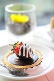Φράουλα στη σοκολάτα ξινή Στοκ φωτογραφία με δικαίωμα ελεύθερης χρήσης