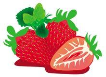 46-φράουλα-NK1 Στοκ εικόνες με δικαίωμα ελεύθερης χρήσης