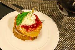 Φράουλα shortcake Στοκ φωτογραφία με δικαίωμα ελεύθερης χρήσης