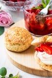 Φράουλα shortcake Στοκ εικόνες με δικαίωμα ελεύθερης χρήσης