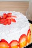 Φράουλα shortcake Στοκ φωτογραφίες με δικαίωμα ελεύθερης χρήσης